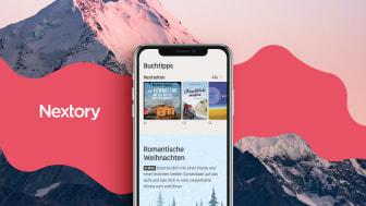 Nextory jetzt auch in Österreich und der Schweiz verfügbar