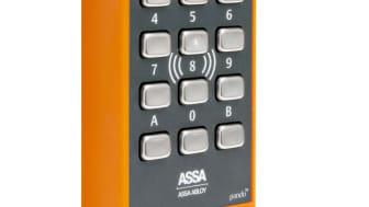 ASSA Pando Secure orange läsare