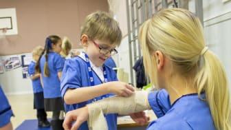 Nursing career demo at Linkwood