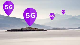 – Med over 1 000 5G-basestasjoner i mobilnettet vårt har vi nå nådd en viktig milepæl i vår nasjonale 5G-utbygging og den videre digitaliseringen av Norge, sier administrerende direktør i Telia Norge, Stein-Erik Vellan