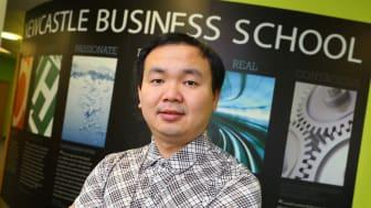 Professor Yu Xiong of Newcastle Business School