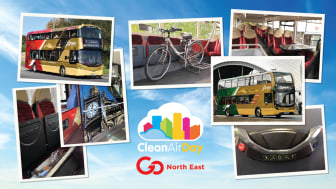 Go North East celebrates Clean Air Day with over £10million investment into green, safe and clean buses