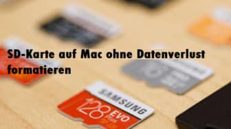 (2 Möglichkeiten) SD-Karte auf Mac ohne Datenverlust formatieren