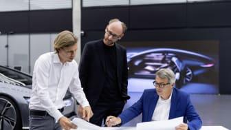 Philipp Römers, Head of Design Exterior; Marc Lichte, Head of Design; Norbert Weber, Head of Design Interior