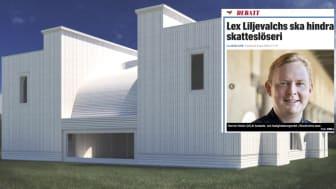 Fastighetsborgarrådet Dennis Wedin (M) kritiserar Liljewalchs dyra tillbyggnad på Djurgården, men i Järva vill han bygga världens dyraste och fulaste begravningsplats. Varje kistgrav kommer kosta minst 150 000 kronor - 15 gånger mer än normalt.