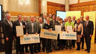 Das Bayernwerk hat mit Unterstützung der Regierung von Oberfranken den Bürgerenergiepreis 2016 vergeben.