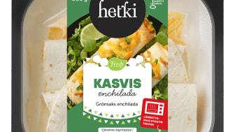 Fresh kasvis-enchillada
