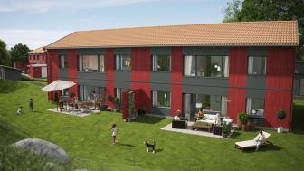 Brf Prästgården i Olofstorp - Säljstarten av nya bostadsrätter har börjat!