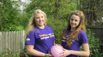 Preston netball players help to Make May Purple for stroke