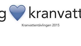 Kranvattentävlingen 2015