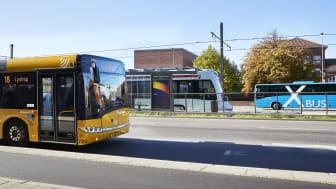 Aarhus City Halvmarathon: Sådan kører busser og letbane