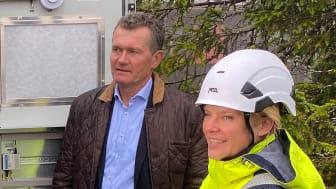 Morten Schøyen i Pixii og Ingrid Nytun Christie i Elvia.
