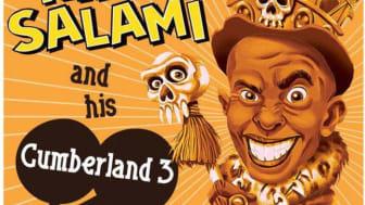King Salami le premier groupe de fete internationnal de Londres  pour lea sortie du 3eme album en direct live au Gibus le 13 avril