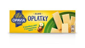 Opavia Zlate Oplatky orisek front