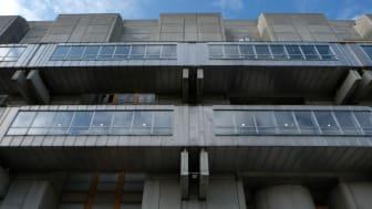 Unika detaljer och sinnrika lösningar kännetecknar Tomtebodas arkitektur.