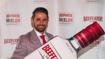 London Calling: Slavomir Kytka fra The Thief Bar i Oslo er Norges Beefeater MIXLDN vinner