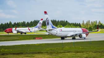 El número de pasajeros de Norwegian muestra un aumento continuo a medida que se fortalece la demanda