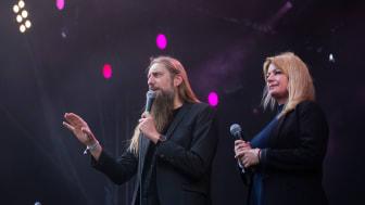 Carsten Holm og Camilla Jane Lea