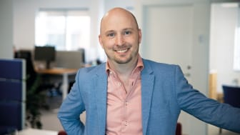 AddMobiles Projektchef Morgan Pernryd berättar om hur du planerar arbetsorder i projekthanteringssystemet. Foto: AddMobile AB