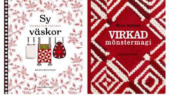 Två nya böcker från Hemslöjdens förlag.