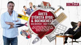 Möt Tareq Taylor och Knut Knutson på årets stora Bomässa!