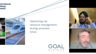 IRS Rail Webinar: Optimising railway resources a priority in lockdown