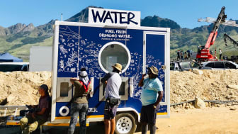 Bluewater helped film crews and actors stay properly hydrated and avoid using single-use plastic bottles while filming Ridley Scott's Raised by Wolves hit TV production in South Africa.
