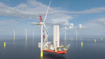 Cadeler's new Wind Turbine Installation Vessels will be built by COSCO Shipping (Qidong) Offshore and fitted with Kongsberg Maritime's field-proven integrated solution for WTIV operation