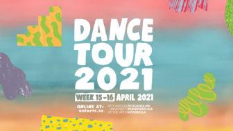 Illustration för Dance tour 2021, av Alexander Rosso