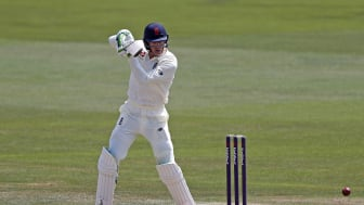 Keaton Jennings scored 141 on day one of England Lions' game against Cricket Australia XI (Getty Sport)