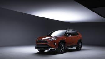 RAV4 Plug-in gjør seg klar til 2019 Los Angeles Auto Show