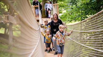Expedition UPP är ett resultat av senaste årens stora satsningar. I år blir Skånes Djurpark ett ännu starkare familjeäventyr, med upplevelser även för större barn.
