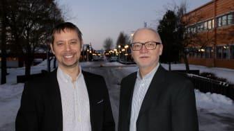 Daniel Johansson och Håkan Schunnesson.