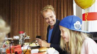Familjemiddagserbjudande på Scandic - barnen äter gratis!
