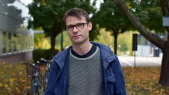 Alexander Miething, forskare vid Sociologiska institutionen. Foto: Leila Zoubir, SU.