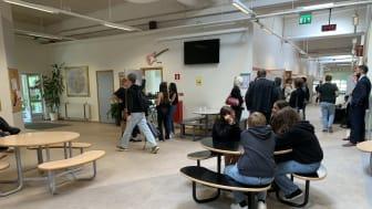 Ministerbesök på Källebergsskolan i Eslöv