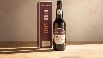 Skotska Innis & Gunn lanserar en spännande syrlig  Scottish Cherry Kriek i strikt begränsad upplaga.