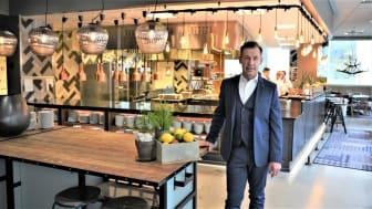 Michael Lundin, ny hotelldirektör på Radisson Blu Metropol Hotel i Helsingborg