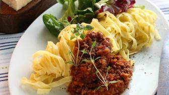 Svenskarnas husmansfavorit: pasta med köttfärssås