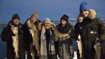 Masterchef Portugal lot seg imponere av den norske naturen - og torsken!