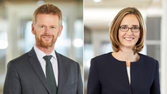 Peter Gerber, CEO Lufthansa Cargo und Dorothea von Boxberg, CCO Lufthansa Cargo