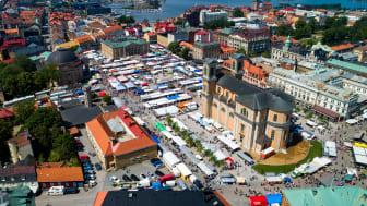 Lövmarknad i Karlskrona