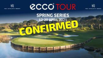 Spring Series at PGA Catalunya is played 12-20 April 2021