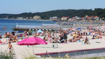 Fria bad klassificeras med bra badvattenkvalitet  i år enligt Havs- och vattenmyndigheten
