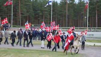 Nordiskt mästarmöte i körning - invigning