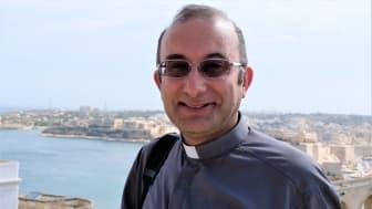 Mgr professor Hector Scerri, ordförande för det kristna rådet på Malta.