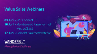 Kommande Value Sales Webinars