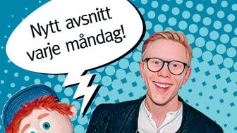 Kylskåpsradion med Gabriel och dockan Åsskar pratar om livet och världen omkring oss, intervjuar intressanta personer, svarar på frågor och berättar spännande saker.