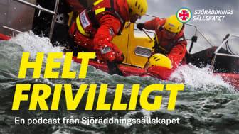 Helt frivilligt är en podcast om hur det är att rädda liv till sjöss.