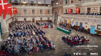 Medaljefest på Københavns Rådhus 14. maj 2019